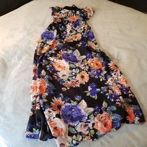 Forever 21 Long Sleeveles Summer Dress Size Small